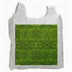 Digital Nature Collage Pattern Recycle Bag (one Side) by dflcprints