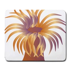 Sea Anemone Large Mousepads by Mariart