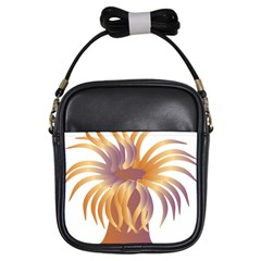 Sea Anemone Girls Sling Bags by Mariart