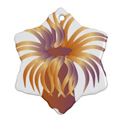 Sea Anemone Ornament (snowflake) by Mariart