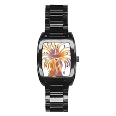 Sea Anemone Stainless Steel Barrel Watch by Mariart
