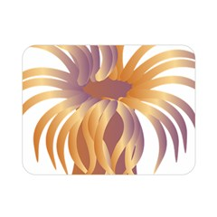 Sea Anemone Double Sided Flano Blanket (mini)  by Mariart