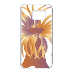 Sea Anemone Samsung Galaxy S7 White Seamless Case by Mariart