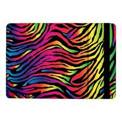 Rainbow Zebra Samsung Galaxy Tab Pro 10 1  Flip Case by Mariart