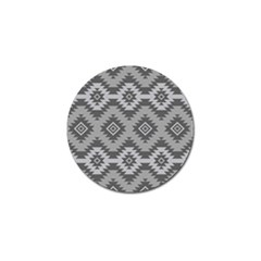 Triangle Wave Chevron Grey Sign Star Golf Ball Marker (4 Pack) by Mariart