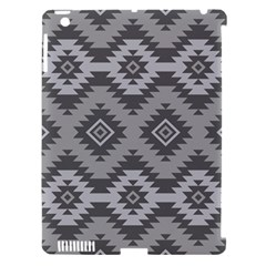 Triangle Wave Chevron Grey Sign Star Apple Ipad 3/4 Hardshell Case (compatible With Smart Cover) by Mariart