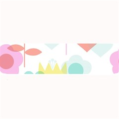 Tulip Lotus Sunflower Flower Floral Staer Love Pink Red Blue Green Large Bar Mats by Mariart