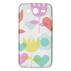 Tulip Lotus Sunflower Flower Floral Staer Love Pink Red Blue Green Samsung Galaxy Mega 5 8 I9152 Hardshell Case  by Mariart