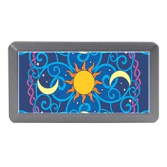 Sun Moon Star Space Vector Clipart Memory Card Reader (mini) by Mariart