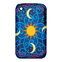 Sun Moon Star Space Vector Clipart Iphone 3s/3gs by Mariart