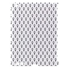 Woman Sign Circle Black Apple Ipad 3/4 Hardshell Case (compatible With Smart Cover) by Mariart