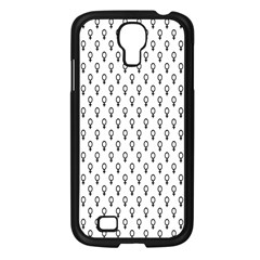 Woman Sign Circle Black Samsung Galaxy S4 I9500/ I9505 Case (black) by Mariart