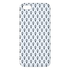Woman Sign Circle Black Iphone 5s/ Se Premium Hardshell Case by Mariart