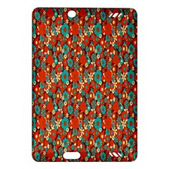 Surface Patterns Bright Flower Floral Sunflower Amazon Kindle Fire Hd (2013) Hardshell Case by Mariart