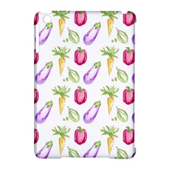 Vegetable Pattern Carrot Apple Ipad Mini Hardshell Case (compatible With Smart Cover) by Mariart