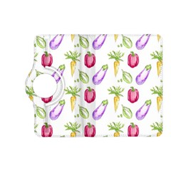 Vegetable Pattern Carrot Kindle Fire Hd (2013) Flip 360 Case by Mariart