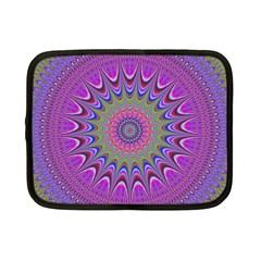 Art Mandala Design Ornament Flower Netbook Case (small)  by BangZart
