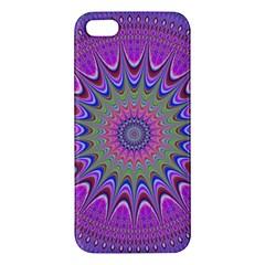 Art Mandala Design Ornament Flower Iphone 5s/ Se Premium Hardshell Case by BangZart