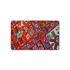 Carpet Orient Pattern Magnet (name Card) by BangZart