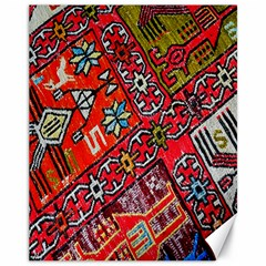 Carpet Orient Pattern Canvas 11  X 14   by BangZart