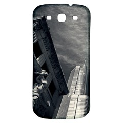 Chicago Skyline Tall Buildings Samsung Galaxy S3 S Iii Classic Hardshell Back Case by BangZart