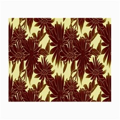 Floral Pattern Background Small Glasses Cloth by BangZart