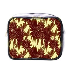 Floral Pattern Background Mini Toiletries Bags by BangZart