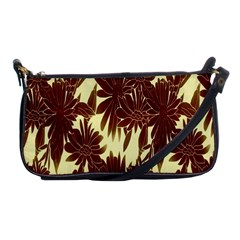 Floral Pattern Background Shoulder Clutch Bags by BangZart