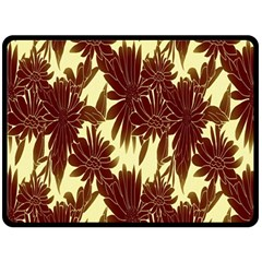Floral Pattern Background Double Sided Fleece Blanket (large)  by BangZart