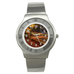 Florida State University Stainless Steel Watch by BangZart