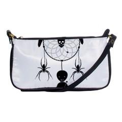 Voodoo Dream Catcher  Shoulder Clutch Bags by Valentinaart