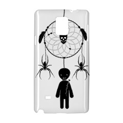 Voodoo Dream Catcher  Samsung Galaxy Note 4 Hardshell Case by Valentinaart
