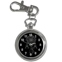 Voodoo Dream Catcher  Key Chain Watches by Valentinaart