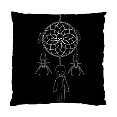 Voodoo Dream Catcher  Standard Cushion Case (one Side) by Valentinaart