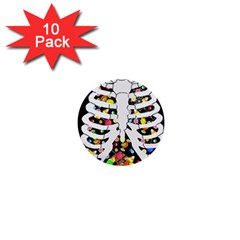 Trick Or Treat  1  Mini Buttons (10 Pack)  by Valentinaart