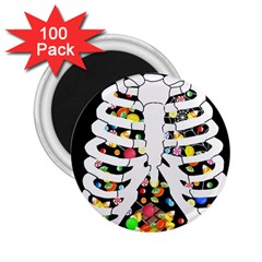 Trick Or Treat  2 25  Magnets (100 Pack)  by Valentinaart