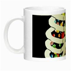 Trick Or Treat  Night Luminous Mugs by Valentinaart