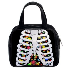 Trick Or Treat  Classic Handbags (2 Sides) by Valentinaart