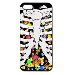 Trick Or Treat  Apple Iphone 5 Seamless Case (black) by Valentinaart