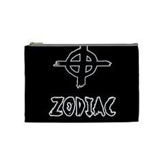 Zodiac Killer  Cosmetic Bag (medium)  by Valentinaart