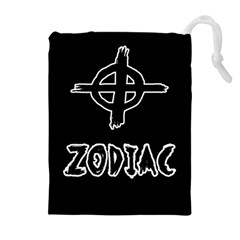 Zodiac Killer  Drawstring Pouches (extra Large) by Valentinaart