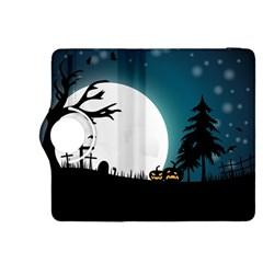 Halloween Landscape Kindle Fire Hdx 8 9  Flip 360 Case by Valentinaart