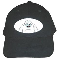 Yeti Black Cap by Valentinaart