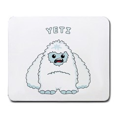 Yeti Large Mousepads by Valentinaart