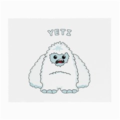 Yeti Small Glasses Cloth by Valentinaart