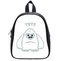 Yeti School Bag (small) by Valentinaart