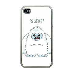 Yeti Apple Iphone 4 Case (clear) by Valentinaart