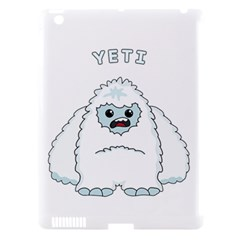 Yeti Apple Ipad 3/4 Hardshell Case (compatible With Smart Cover) by Valentinaart