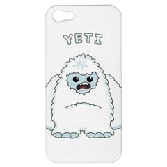 Yeti Apple Iphone 5 Hardshell Case by Valentinaart