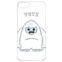Yeti Apple Iphone 5 Classic Hardshell Case by Valentinaart